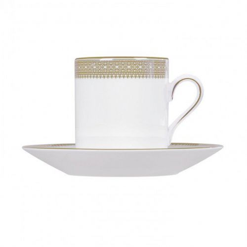 Vera Wang Lace Gold Espresso Saucer